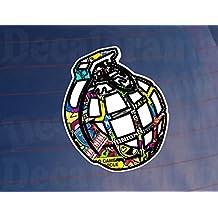 Granada Sticker Bomb Full Color coche/van/parachoques/Vinilo Adhesivo impreso ventana
