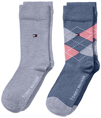 Tommy-Hilfiger-TH-KIDS-ORIGINAL-ARGYLE-SOCK-2P-Calcetines-Nios