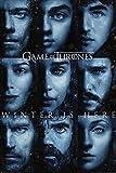Póster Juego de Tronos. Winter is Here. Temporada 7