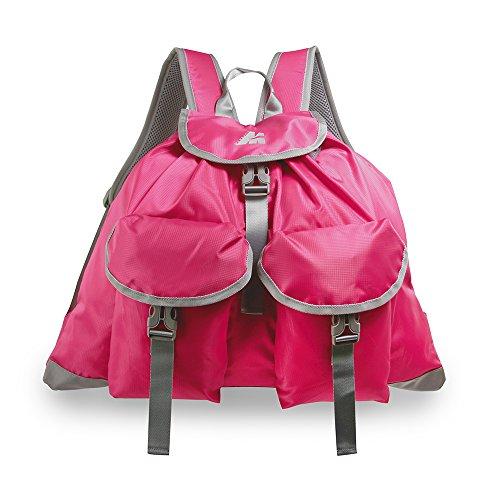 Marsupio® Spring 20L Sac à Dos (20L Sac à Dos journée Loisir Nylon 280 g), Farbe:Gray - Pink Groesse:20 L