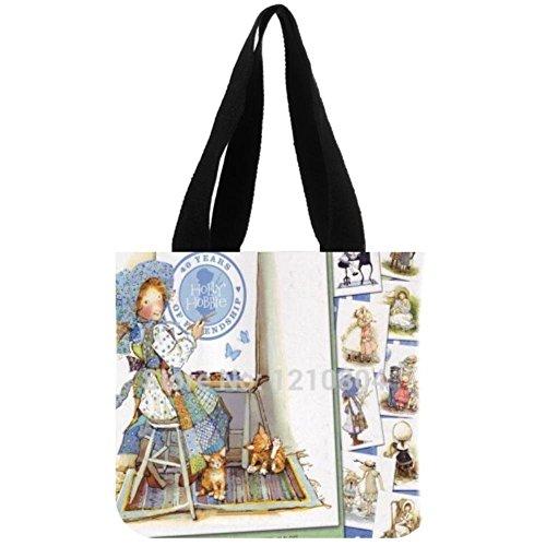 holly-hobbie-custom-tote-bag-fashion-reusable-grocery-shopping-bag2-sides