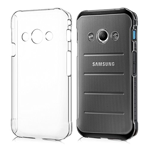 kwmobile Samsung Galaxy Xcover 3 Hülle - Handyhülle für Samsung Galaxy Xcover 3 - Handy Case in Transparent