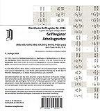 ARBEITSGESETZE Dürckheim-Griffregister Nr. 2061 ( 2018): 61 bedruckte Griffregister zur Befestigung an Trennblättern oder Buchseiten der Arbeitsgesetze