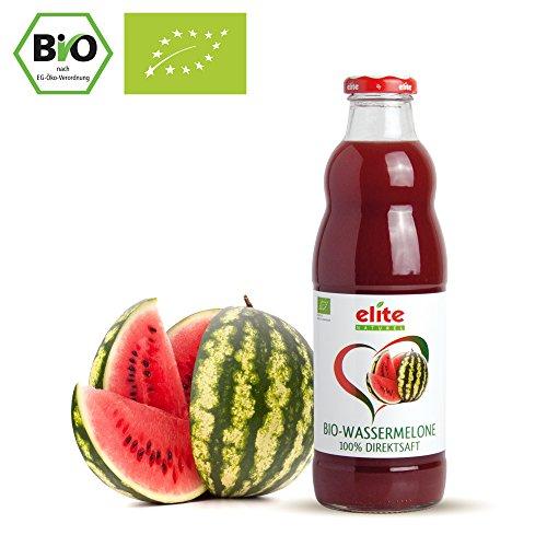 Preisvergleich Produktbild 6 x 700ml BIO Wassermelonen Direktsaft - 100% Muttersaft - BIO Wassermelonensaft