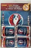 Panini Euro 2016 France Sticker Mega Pack Album und 100 Tüten
