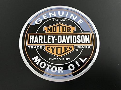Scritta stemma logo adesivo u charley davidsonu d motor oil rifinitura