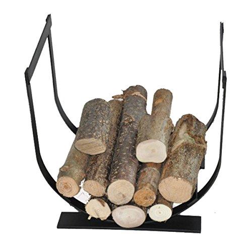 Stylistic Metal Log Basket