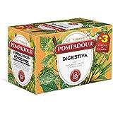 Pompadour - Le Tisane, Digestiva con Rooibos Anice e Finocchio, Pacco da  18X2 g, totale: 36 g