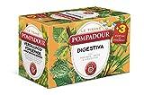 Pompadour - Le Tisane, Digestiva con Rooibos Anice e Finocchio, 18 Filtri x 2 gr [36 gr] - [confezione da 5]