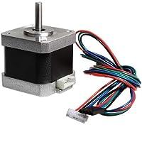 novo3d.in stepper motor high efficient Nema 17 5Kgcm motor with DuPont line 1/0.5m Wire for 3D Printer 1 sets.
