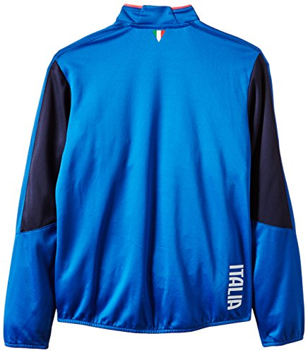 PUMA Kinder Shirt FIGC Italia Stadium Top Team Power Blue/Peacoat