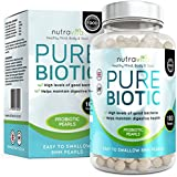 Probiotics Triple Strength Maximum CFU count - 180 Time Release High Strength Probiotic Pearls - NON GMO & Made in the UK
