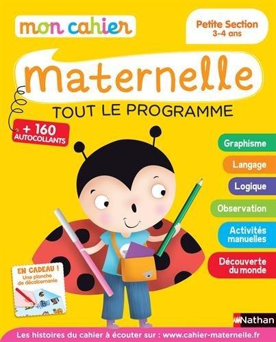 Mon cahier maternelle 3/4 ans by Franoise Kretz-Idas (2015-05-12)