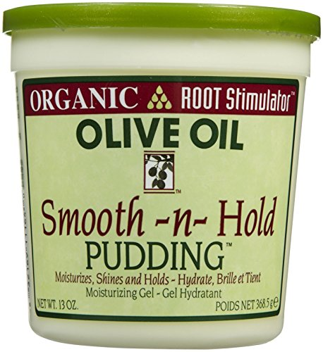Organic Root Stimulator Gel Hydratant Smooth-n-Hold Pudding Olive Oil 368,5g