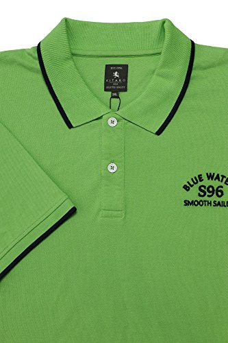 Kitaro Herren Poloshirt Grün