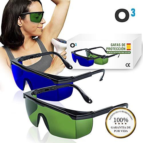 O³ Gafas Laser Depilación - 2 unidades Gafas protección
