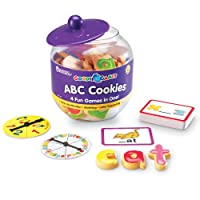 Learning Resources LER1183 Naschwerk-Spiele – ABC-Kekse