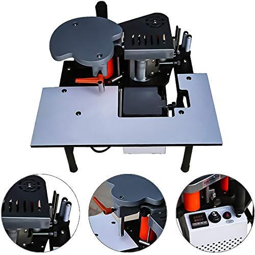 Tragbare Doppelseitige Holzkantenanleimmaschine für gerade Kanten mit einer Stärke von 0.3 bis 3 mm und einer Breite von 10 bis 60 mm