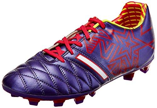 Vector X Phantom-9 Football Shoes, Men's Size 9 (Purple)
