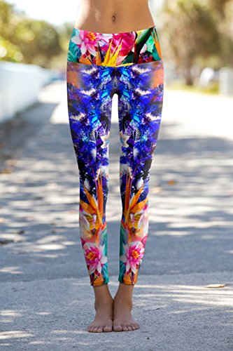 Om Shanti Eco Friendly Power Pants Birds of Paradise