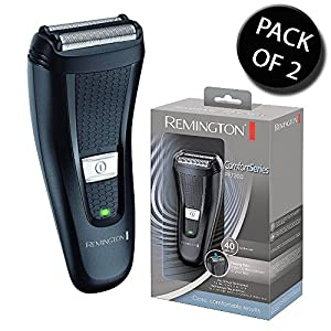 2x Remington PF7200 Cordless Comfort Series Dual Foil Cutters Trimmer Shaver