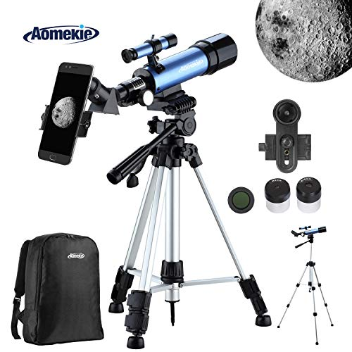 Aomekie Telescopio Astronomico Telescopio Niños Trípode