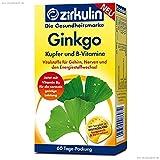 Zirkulin Ginkgo Tabletten plus Kupfer und B-Vitamine 60 Stück