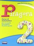 Pitagora. Con quaderno di matematica. Per la Scuola media: 2