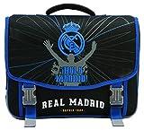 Real Madrid 41cm RMA Schulranzen Unisex Kinder, Schwarz