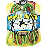 POOF-Slinky - Hot Ropes Pro Competition Series Double Dutch Plastic Jump Ropes, 14-Foot Length, 2-Pack, Assorted Colors, 0X0541 by Poof (English Manual)