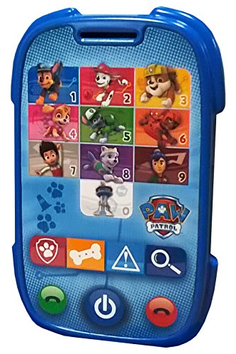 Paw Patrol Patrulla Canina, Juego Educativo Tipo Smartphone (Cefa Toys 00475)