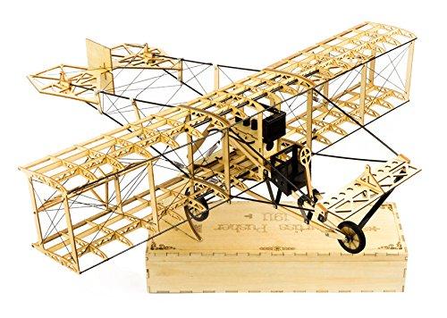 Balsaholz-flugzeuge-kits Rc (arkai Curtiss Pusher Balsa Kit Standflugmodell (auch für RC Ausbau!))