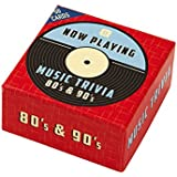 "Talking Tables ""Now Playing 80s and 90s"" Trivia Box"