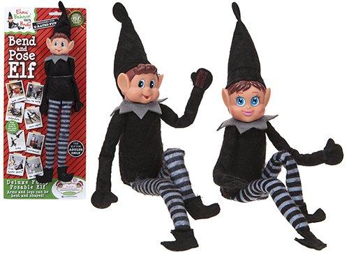 Deluxe Bend & Pose Arthur & Martha Die frechen Elfen - Naughty Elves Entworfen für Erwachsene - einfach, in jeder Position zu pose ()