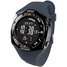 Pyle Ski Master V - Reloj digital altímetro, color azul marino