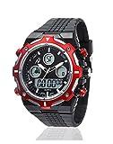 Yepme Digital Red Dial Men's Watch - YPMWATCH3292