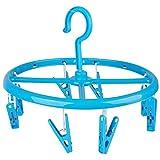 - Wäscheständer Runde Form zum Aufhängen Design City blau