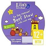 Ella's Kitchen My Little Big Meals Beefy Beef Stew Toddlers 1+ 200G