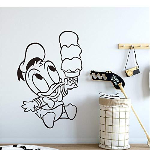Dwqlx Baby-Eis, Catering Trailer Graphics, Burger Van Decals.Shop Kinderzimmer Mural Art Decorat Wandaufkleber 58 * 87 (2 Trailer Halloween)