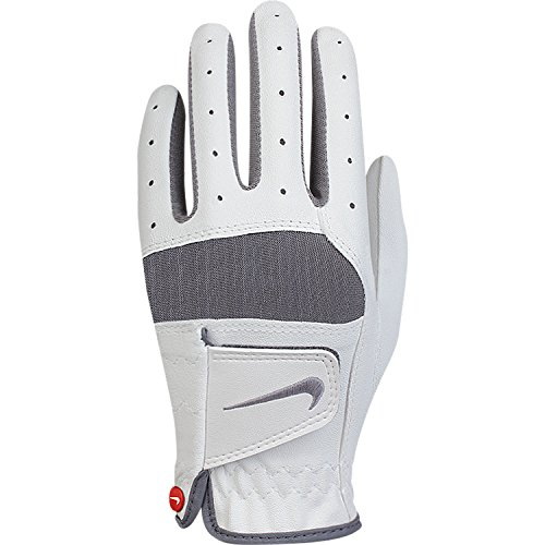 NIKE Gants Tech Remix JR LH M Blanc/gris