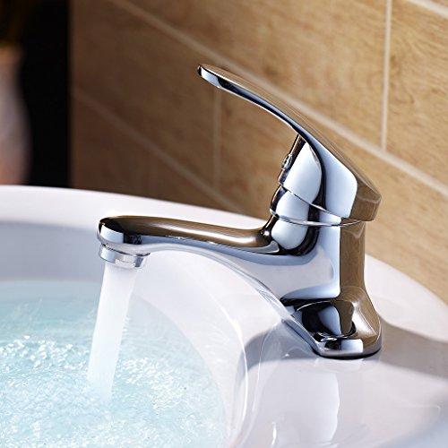 Tout Bassin de cuivre unique robinet d'eau chaude et froide bassin robinet robinet de bain Lavabo