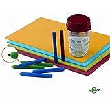 Faibo 727711 Pack de 25 Poinçons en plastique Multicolore