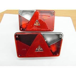 AVB Paket Aspöck Multipoint 5 Leuchte links + rechts mit RFS Set 2 Stck.