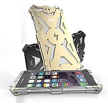SIMON Powerful Shockproof Aluminum Carcasa Screw Ironman Metal Funda Carcasa Case para iPhone 6/6S Plus 5.5i