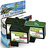 Premium 3er Set Kompatible Druckerpatronen Als Ersatz für Lexmark 16 XL + 26 XL für X1100 X1110 X1130 X1140 X1150 X1155 X1160 X1170 X1180 X1185 X1190 X1195 X1196 X1200 X1250 X1270 X1290 X2225 X2230 X2250 X72 X74 X75 X75 M Z13 Z23 Z23 E Z24 Z25 Z25 L Z33 Z34 Z35 Z503 Z510 Z511 Z512 Z514 Z515 Z516 Z517 Z52O Z601 Z602 Z603 Z605 Z611 Z612 Z614 Z615 Z617 Z640 Z645 Z717 Z817 Z819 2x16+1x26-lex
