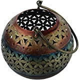 Amazing Crafts Iron Tino Tealight Candle Holder (12.5 Cm X 12.5 Cm X 12.5 Cm)