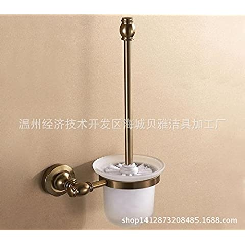 Alambre de aluminio de bronce en espacio de dibujo como sólido wc Brush set lavar inodoros Chi Qing vidrio engrosada