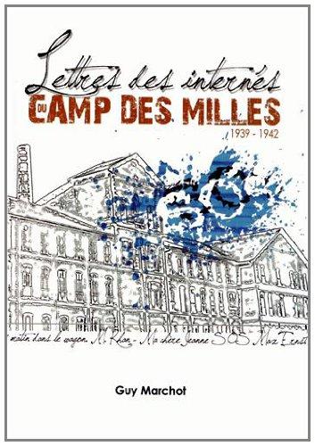 Lettres des internés du camp des Milles