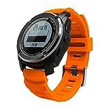 Yakuin Bluetooth Smart Uhren, GPS-Tracker Air Druck Monitor Herzfrequenz Monitor Sport Fitness Activity Tracker für Schrittzähler Wasserdicht Reminder iPhone für Android Frauen Herren