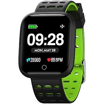 Fitness tracker Y7, para Hombres Mujeres Deportes Al Aire ...